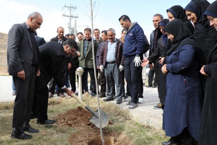 برپایی کمپین دانشگاه پاک در دانشگاه آزاداسلامی واحد شیراز
