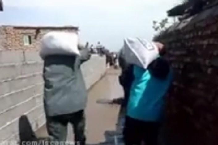 ادامه کمکرسانی دانشگاه آزاد اسلامی به هموطنان سیلزده