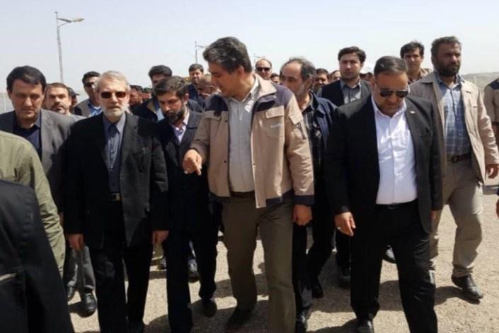 لاریجانی: منابع تامین خسارات سیل در حال برنامه ریزی است