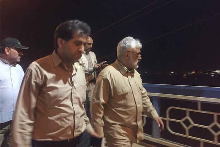 حضور دکتر طهرانچی برای دومین بار در هفته جاری در پلدختر