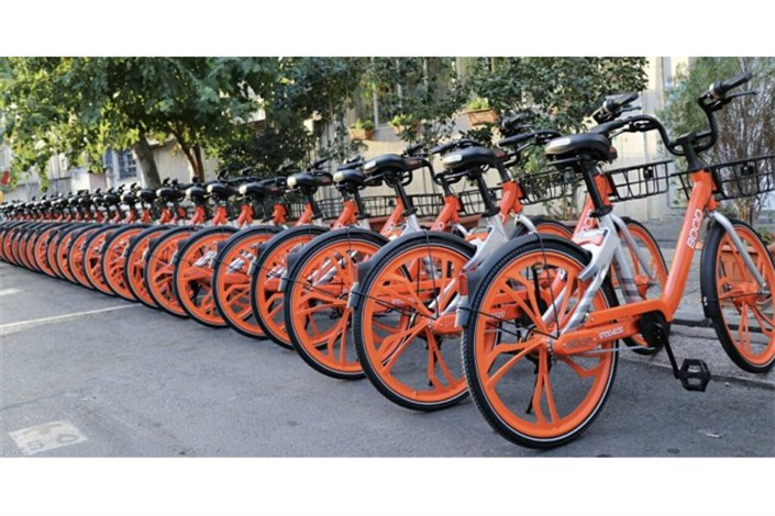 ارائه خدمات حمل و نقل  در بازار تهران  با پیکهای دوچرخه
