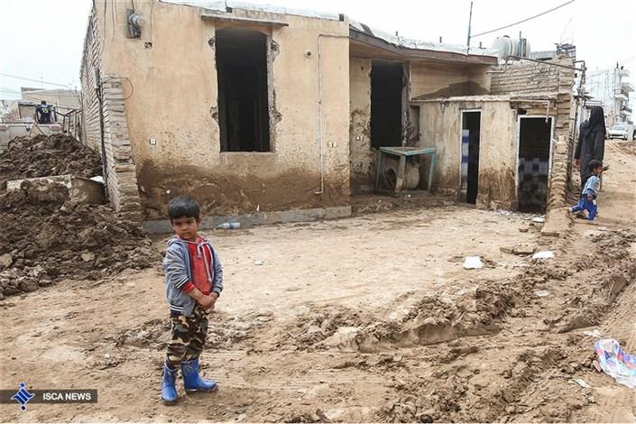 ارائه خدمات رایگان ۷۴ مهدکودک سیار در استان های  سیلزده