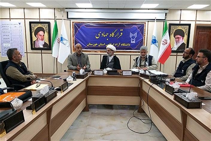 حضور نیروهای قرارگاه جهادی دانشگاه آزاد اسلامی در مناطق سیلزده قابل تحسین است