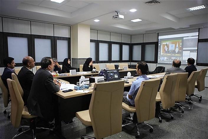 جلسه آمایشی معاونت علوم پزشکی دانشگاه آزاد اسلامی برگزار شد