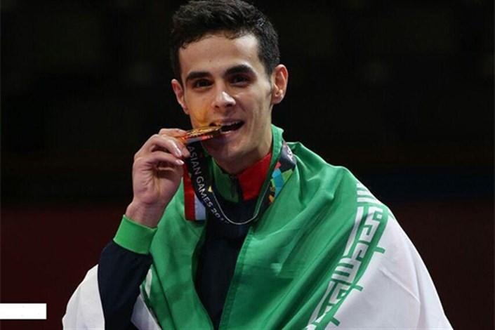 دانشجوی دانشگاه آزاد اسلامی میانه، قهرمان مسابقات تکواندو دانشجویان جهان شد