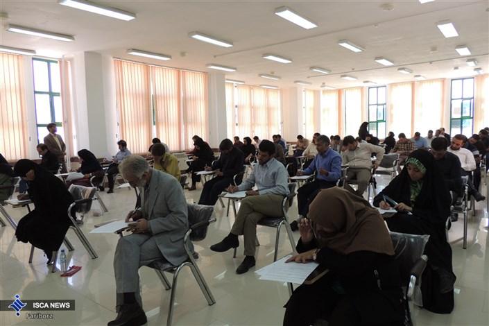 آزمون جامع دکتری تخصصی در واحد دهاقان  برگزار شد