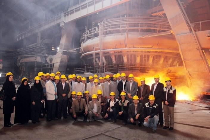 تأسیس دفتر واحد نجف آباد در صنایع ذوب آهن/ مهارتآموزی دانشجویان یکی از شروط تفاهمنامه با واحدهای صنعتی است