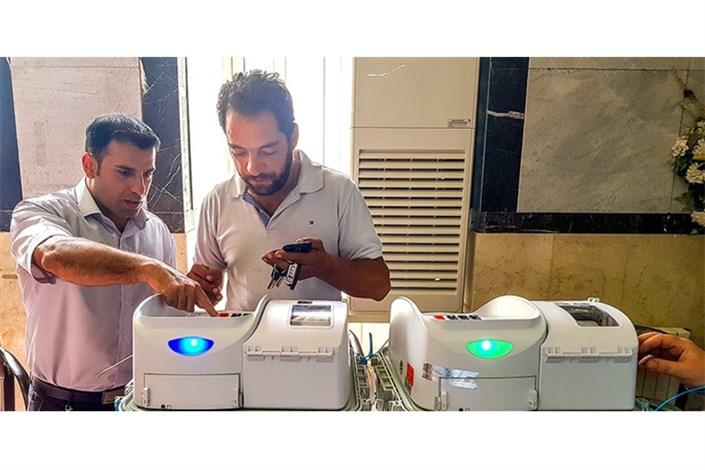 انتخابات امروز شورایاریها پایلوتی برای سایر انتخابات مکانیزه