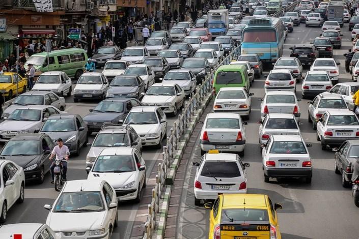 وضعیت ترافیکی معابر بزرگراهی پایتخت درهشتمین روز زمستان