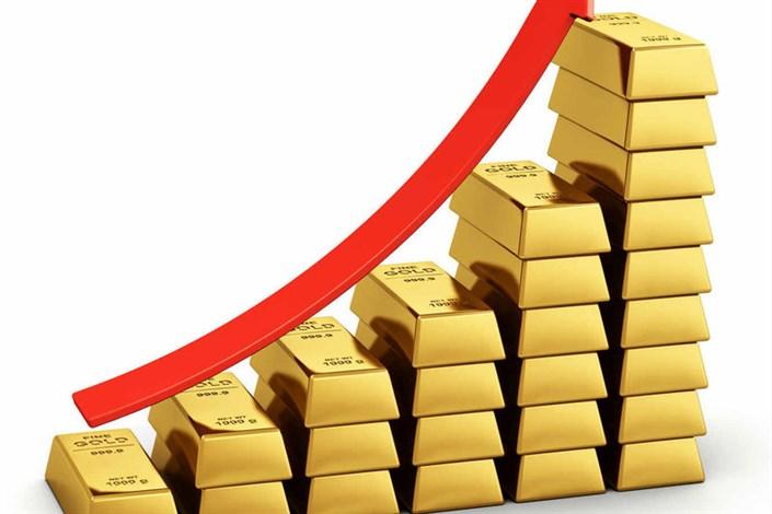 طلای جهانی در قله ۵ ماهه شد