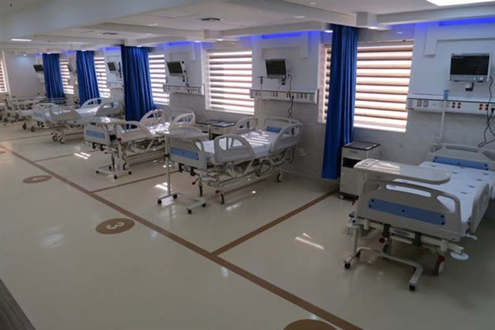 افزایش ۵۱ درصدی تخت های بستری ویژه بیماران کرونایی در مراکز درمانی ارتش