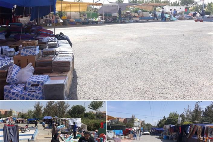 افتتاح دو بازار روز در منطقه 13