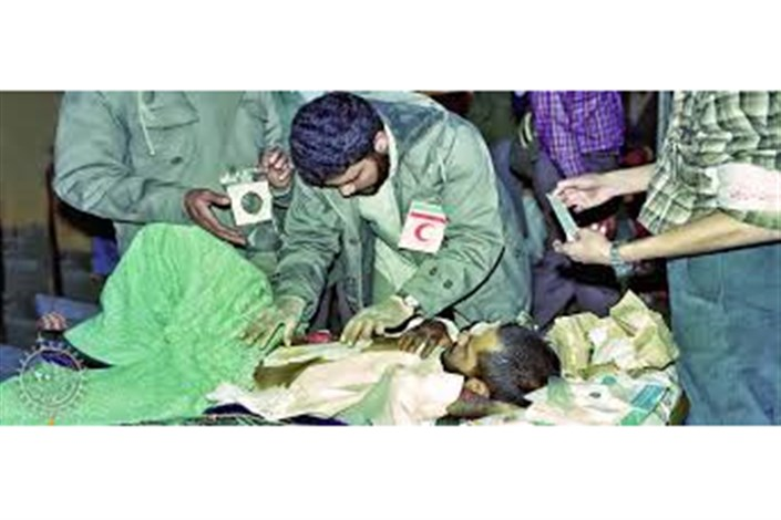 ارائه بیش از ۴میلیون خدمات امدادی توسط امداد گران هلال احمر در دوران دفاع مقدس