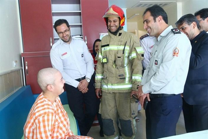 آتشنشانی پیام ایمنی و پیشگیری از حوادث را از محک به جامعه مخابره کرد