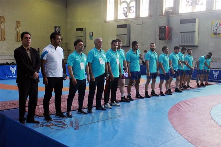 بازار بزرگ ایران به فینال لیگ برتر کشتی آزاد راه یافت