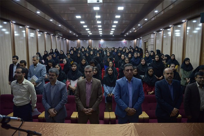 مراسم استقبال از دانشجویان جدید دانشگاه آزاد اسلامی واحد بوشهر برگزار شد