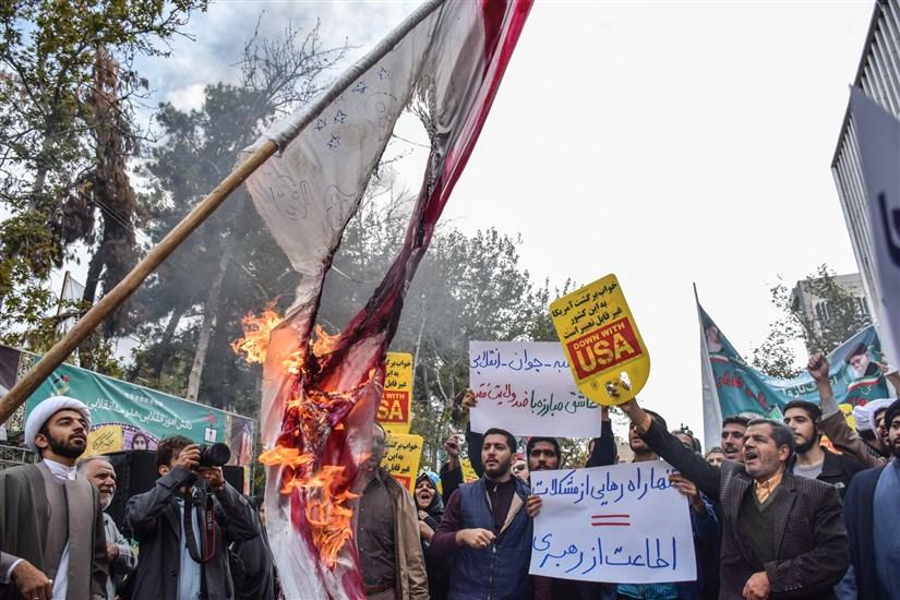 راهپیمایی یوم الله ۱۳ آبان در تهران