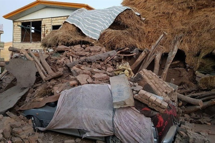 مصدومان زلزله به ۳۳۲ نفر رسید/تخریب کامل۴۰ خانه