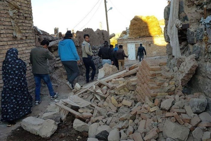 ۲۰ واحد مسکونی مددجویان بهزیستی بر اثر زلزله تخریب شد