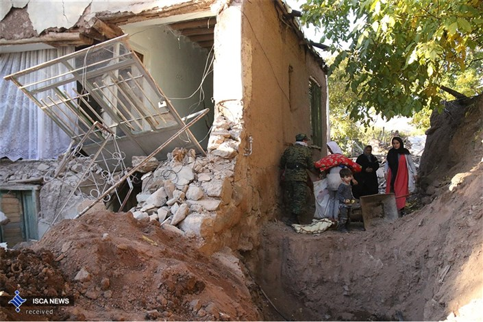 3000 واحد مسکونی از زلزله  آسیب دیدند/ 300 خانوار اسکان اضطراری داده شدند