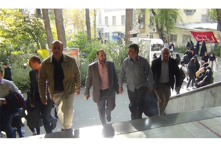 بازدید هیئت لبنانی از دانشگاه علوم پزشکی آزاد اسلامی تهران