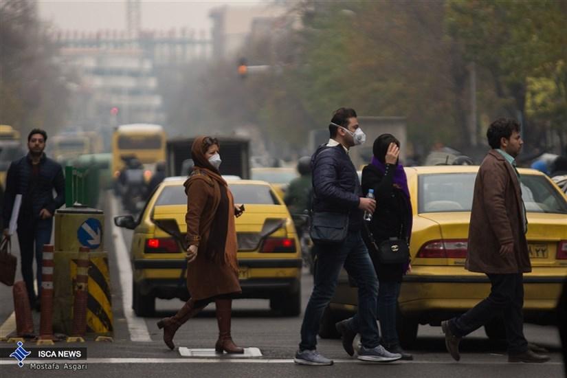 هوای تهران آلوده است/شاخص119