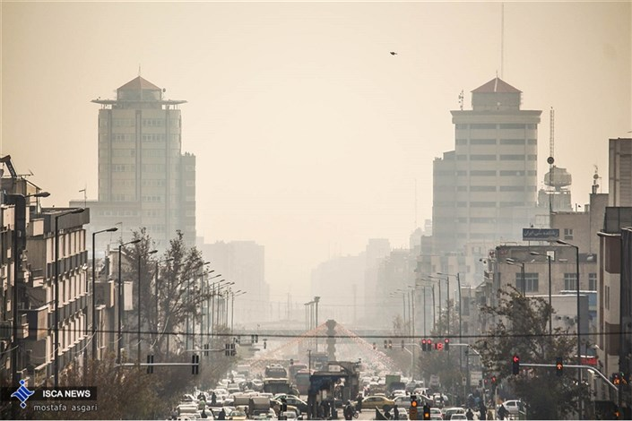 هوای تهران در مرز آلودگی/شاخص 96