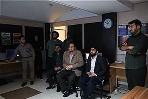 بازدید بابک نگاهداری از تحریریه باشگاه خبرنگاران دانشجویی ایران