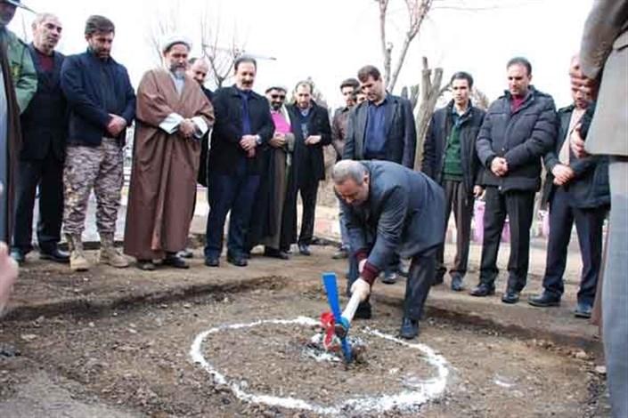 یادمان شهدای گمنام دانشگاه آزاد اسلامی مرند ساخته میشود