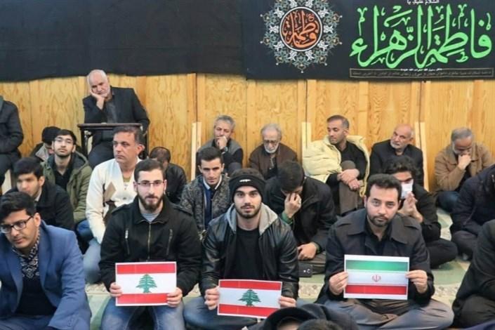 اعلام آمادگی دانشجویان دانشگاه شیراز برای انتقام از آمریکا