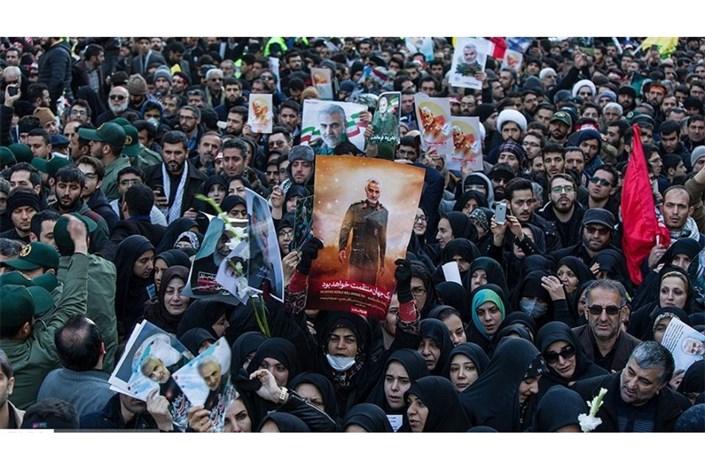 جان باختن تعدادی از تشییع کنندگان سردار سلیمانی در کرمان