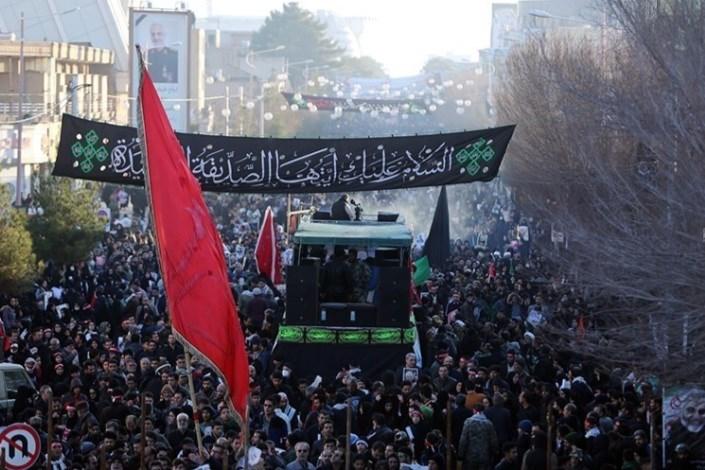 جان باختن 32 نفر در تشییع سردار سلیمانی /190 نفر مصدوم شدند