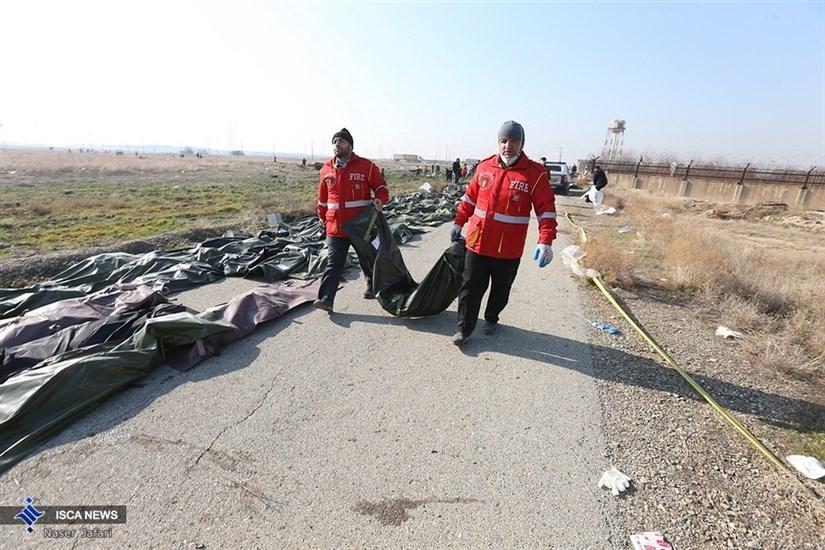 پیکر 61 نفر ازقربانیان سقوط هواپیما آماده تحویل به خانوادهها