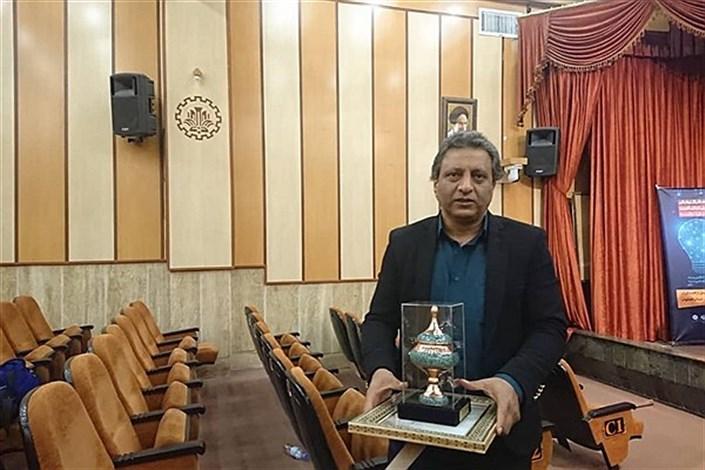 عضو هیات علمی واحد نجف آباد درجمع برترین پژوهشگران علوم انسانی