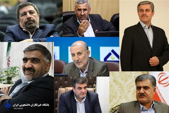 رئیس کمیسیونهایی که رد صلاحیت شدهاند