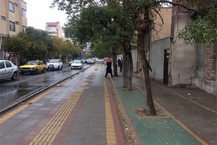 پیاده راه سازی خیابان استاد شهریار به  ایستگاه آخررسید