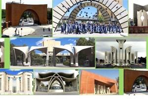۳۵ دانشگاه از ایران در لیست برترینهای جهان قرار گرفتند