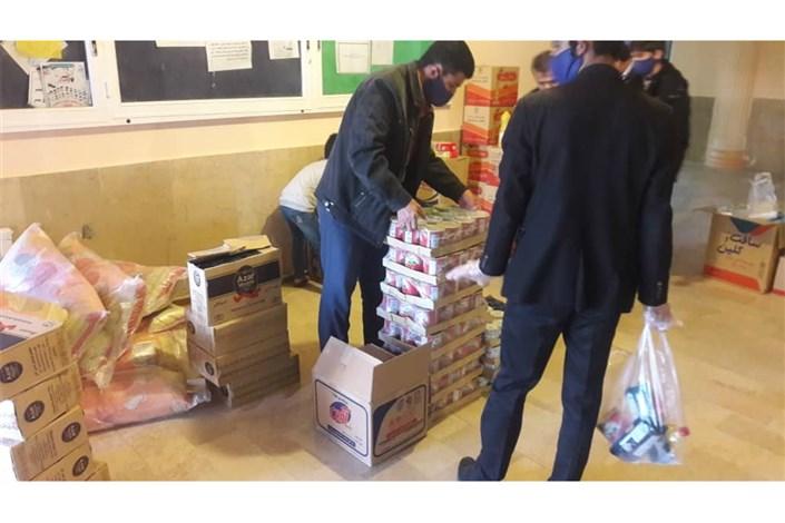 کمکرسانی واحد بافت بهسیلزدگان شهرستان کهنوج