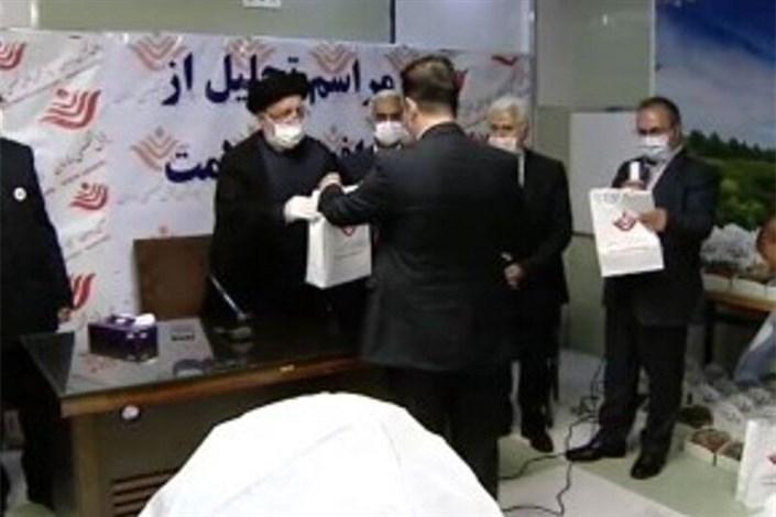 تجلیل رئیس  بنیاد شهید از کادر درمانی و پرستاری بیمارستان ساسان