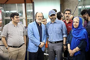 """ورود عوامل فیلم """"فروشنده """" به ایران"""