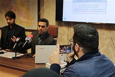 نشست خبری نقش عوامل سایبرنتیک در سانحه هواپیمای اوکراینی
