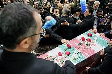 مراسم بزرگداشت چهلمین روز شهادت سردارسلیمانی و شهدای مقاومت در حرم رضوی