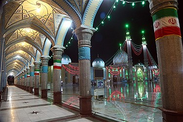 مسجد جمکران؛ در روزهای کرونایی