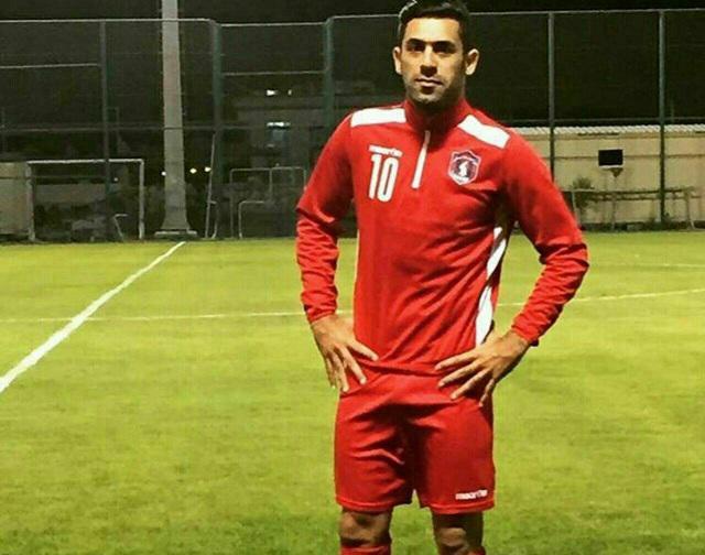 حضور زهیوی در بازی پلیآف لیگ ستارگان