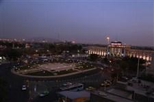 میدان 75 ساله راه آهن با نمای فرش ایرانی بازسازی شد
