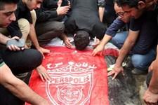 گزارش تصویری ایسکانیوز از مراسم تدفین مرحوم نوروزی