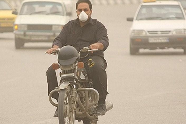 آلودگی موتور سیکلت