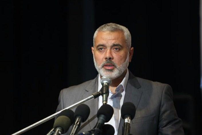 هنیه: حماس با پیشنهاد مصر موافقت کرد