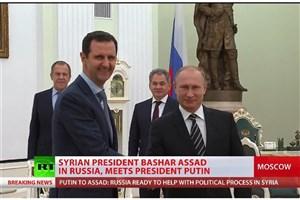 ویدیو / بشار اسد وارد روسیه شد