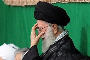 عزاداری شب تاسوعای حسینی با حضور رهبرانقلاب